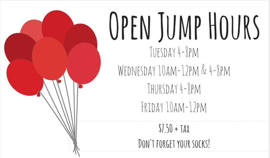 open jump hours edited 12-27-17